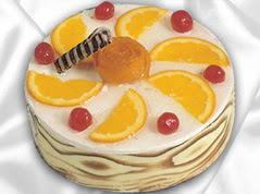 lezzetli pasta satisi 4 ile 6 kisilik yas pasta portakalli pasta  Ankara 14 şubat sevgililer günü çiçek