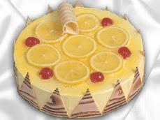 taze pastaci 4 ile 6 kisilik yas pasta limonlu yaspasta  Ankara kaliteli taze ve ucuz çiçekler