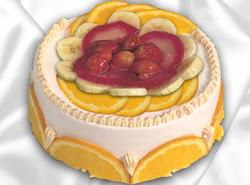 leziz pastane 4 ile 6 kisilik yas pasta meyvali yaspasta  Ankara online çiçek gönderme sipariş