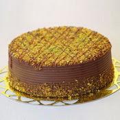 sanatsal pastaci 4 ile 6 kisilik krokan çikolatali yas pasta  Ankara güvenli kaliteli hızlı çiçek