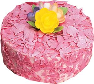 pasta siparisi 4 ile 6 kisilik framboazli yas pasta  Ankara çiçek gönderme