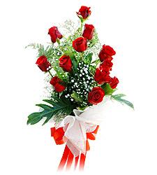 11 adet kirmizi güllerden görsel sölen buket  Ankara çiçek mağazası , çiçekçi adresleri