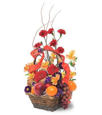 Özel Meyva sepeti ve çiçekler sevdiklerinizi simartin  Ankara çiçek servisi , çiçekçi adresleri