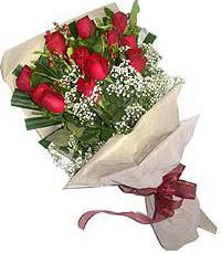 11 adet kirmizi güllerden özel buket  Ankara çiçek servisi , çiçekçi adresleri