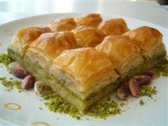 tatli siparisi essiz lezzette 1 kilo fistikli baklava  Ankara anneler günü çiçek yolla