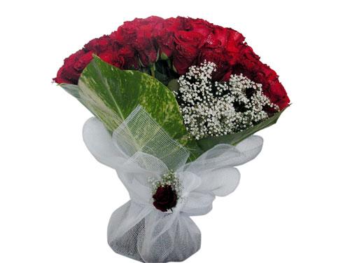 25 adet kirmizi gül görsel çiçek modeli  Ankara internetten çiçek siparişi