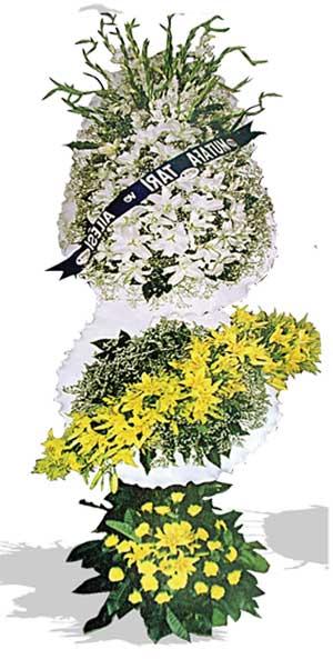 Dügün nikah açilis çiçekleri sepet modeli  Ankara ucuz çiçek gönder