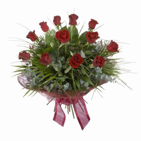 Etkileyici buket 11 adet kirmizi gül buketi  Ankara hediye sevgilime hediye çiçek