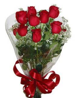 Çiçek sade gül buketi 7 güllü buket  Ankara kaliteli taze ve ucuz çiçekler