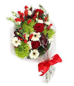 Karisik mevsim buketi çiçek tanzimi  Ankara çiçek servisi , çiçekçi adresleri