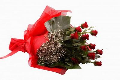 Ankara anneler günü çiçek yolla  11 adet kirmizi gül buketi çiçekçi
