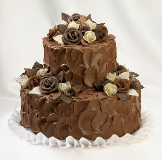 2 katli görsel çikolatali yas pasta  Ankara hediye sevgilime hediye çiçek