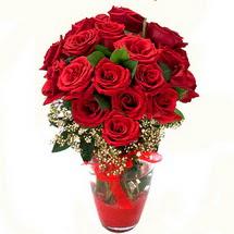 Ankara anneler günü çiçek yolla   9 adet kirmizi gül