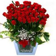Ankara çiçek servisi , çiçekçi adresleri   51 adet kirmizi gül aranjmani