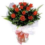 Ankara ucuz çiçek gönder  9 adet güzel bir gül buketi