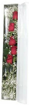 Ankara anneler günü çiçek yolla   5 adet gülden kutu güller