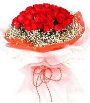 Ankara internetten çiçek satışı  21 adet askin kirmizi gül buketi