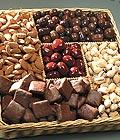 Ankara cicek , cicekci Kuru yemis ve çikolata hediyesi