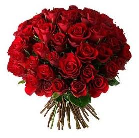 Ankara ucuz çiçek gönder  33 adet kırmızı gül buketi