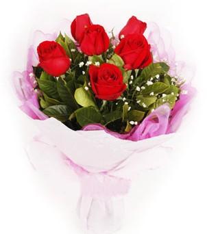 Ankara internetten çiçek satışı  kırmızı 6 adet gülden buket