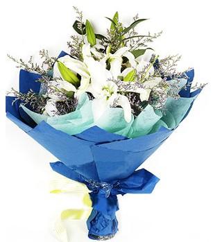 Ankara çiçek siparişi sitesi  4 adet dal kazablankadan görsel buket