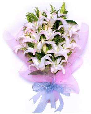 5 dal kazablankadan muhteşem buket  Ankara hediye çiçek yolla