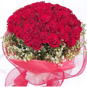 Ankara uluslararası çiçek gönderme  29 adet kırmızı gülden buket