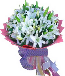 7 dal cazablanca görsel buketi  Ankara 14 şubat sevgililer günü çiçek