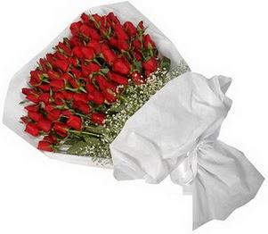Ankarada çiçek gönderme sitemiz güvenlidir  51 adet kırmızı gül buket çiçeği