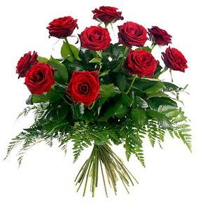 Ankara çiçekçi telefonları  10 adet kırmızı gülden buket