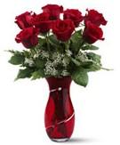 8 adet kırmızı gül sevgilime hediye  Ankarada çiçek gönderme sitemiz güvenlidir