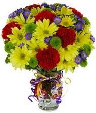 En güzel hediye karışık mevsim çiçeği  Ankara hediye çiçek yolla