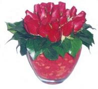 Ankara güvenli kaliteli hızlı çiçek  11 adet kaliteli kirmizi gül - anneler günü seçimi ideal