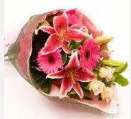1 dal kazablanka ve mevsim çiçekleri  Ankara çiçek servisi , çiçekçi adresleri