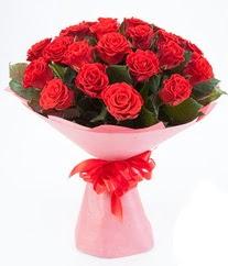 15 adet kırmızı gülden buket tanzimi  Ankara anneler günü çiçek yolla