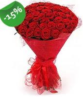 51 adet kırmızı gül buketi özel hissedenlere  Ankara anneler günü çiçek yolla