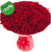 Özel mi Özel buket 101 adet kırmızı gül  Ankara çiçek siparişi sitesi