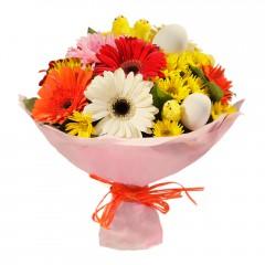 Karışık mevsim buketi Mevsimsel çiçek  Ankara çiçek servisi , çiçekçi adresleri