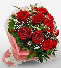 12 adet kırmızı güllerden kaliteli gül  Ankara çiçek mağazası , çiçekçi adresleri