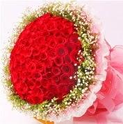 101 adet kırmızı gülden buket  Ankara güvenli kaliteli hızlı çiçek