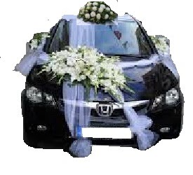 Ankara çiçek satışı  Çift çiçekli sünnet düğün ve gelin arabası süsleme