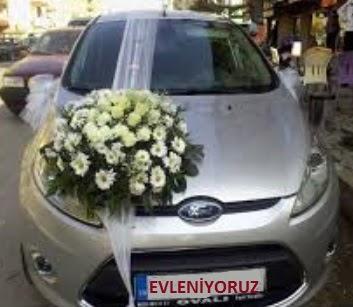 Ankara çiçek satışı  Gelin arabası süslemesi