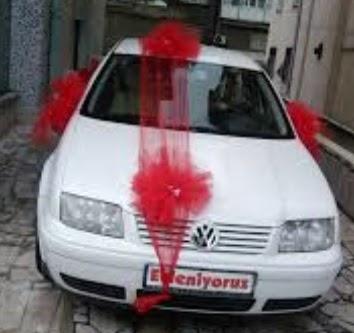 Ankara çiçek satışı  çiçeksiz gelin arabası süslemesi