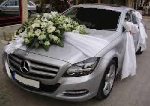 Sünnet düğün arabası süslemesi  Ankara çiçek , çiçekçi , çiçekçilik