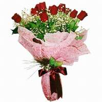 Ankara anneler günü çiçek yolla  12 adet kirmizi kalite gül