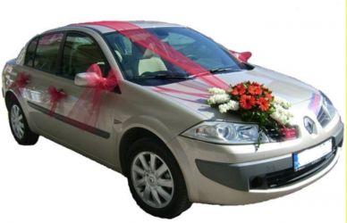 Çiçekli gelin arabası süsü  Ankarada çiçek gönderme sitemiz güvenlidir
