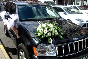 Ankara düğün arabası süslemesi  Ankara çiçek servisi , çiçekçi adresleri