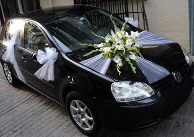 Ankara düğün gelin arabası süslemesi  Ankara çiçek siparişi vermek