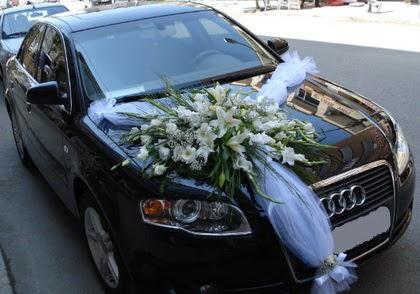 Ankara araba süslemesi gelin arabası  Ankara çiçek satışı