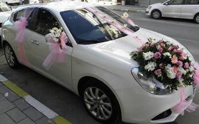 Düğün arabası süslemesi  Ankara çiçekçi mağazası